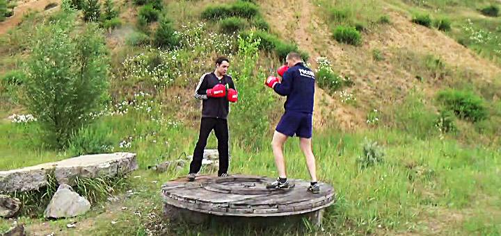 Бокс и фитнес, упражнения
