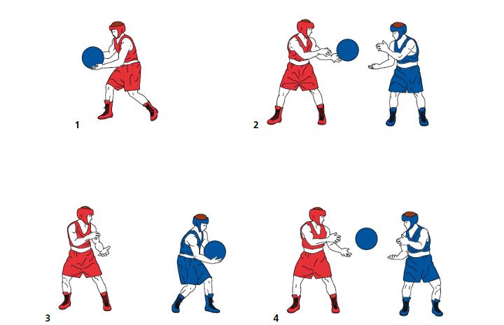 упражнения-для-боксера-с-набивным-мячом