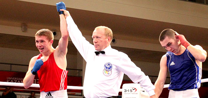 Соревнования по боксу в Казани 2017
