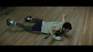 """""""Опасный"""" изображет Шорелла на ринге. Тот на эту шутку затаил обиду и злобу."""