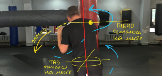 Анализ движений боксера